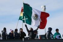 Annual border mass Saturday, Nov. 2, at the Rio Grande canal near the Santa Fe bridge in El Paso.